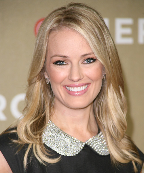 Brooke Anderson Long Straight Hairstyle - Light Blonde (Golden)