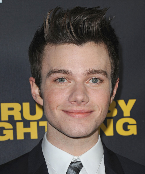 Chris Colfer Short Straight Casual Hairstyle