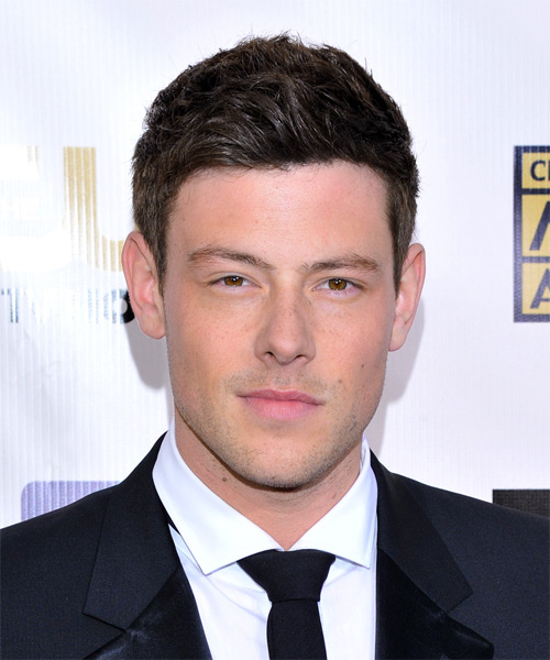 Corey Monteith Short Straight Formal Hairstyle