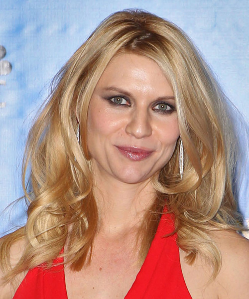 Claire Danes Long Straight Casual Hairstyle - Medium Blonde (Golden) Hair Color