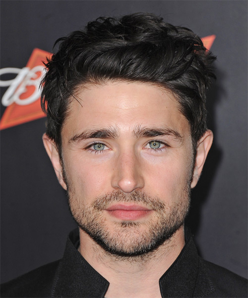 Matt Dallas Short Straight Hairstyle - Black