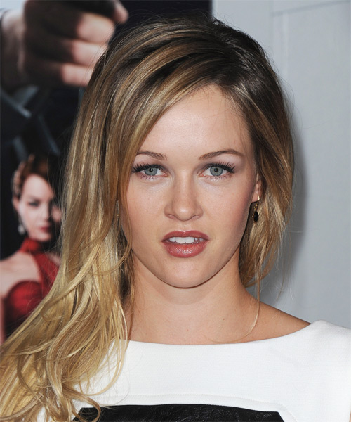 Ambyr Childers Long Straight Hairstyle - Dark Blonde
