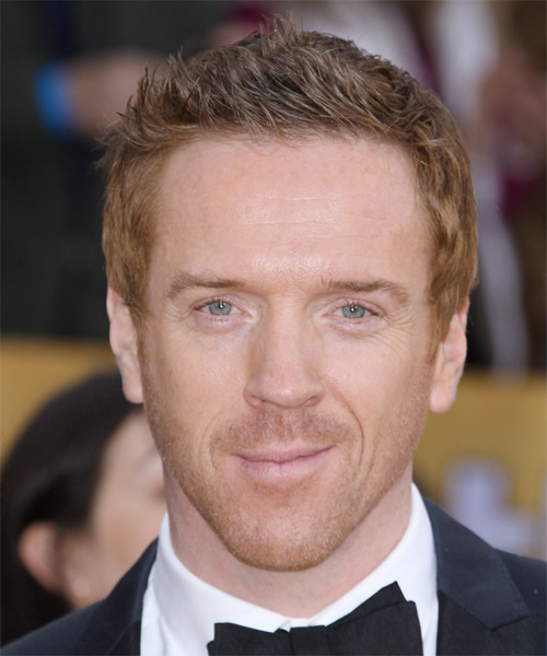 Damian Lewis - Casual Short Straight Hairstyle