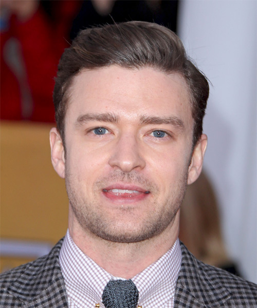 Justin Timberlake - Formal Short Straight Hairstyle