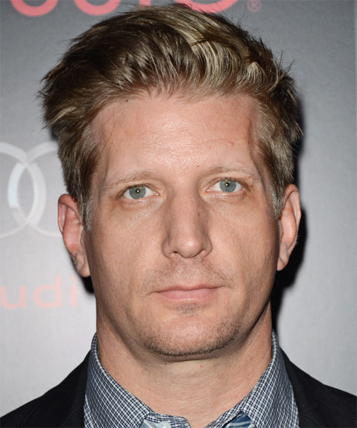 Paul Sparks Short Straight Hairstyle - Dark Blonde