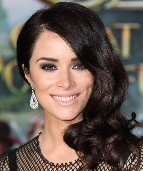 Abigail Spencer Long Wavy Formal Hairstyle (Mocha)