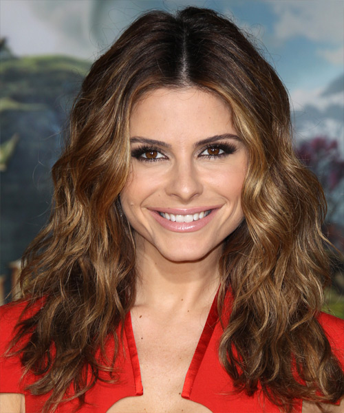 Maria Menounos - Casual Long Wavy Hairstyle