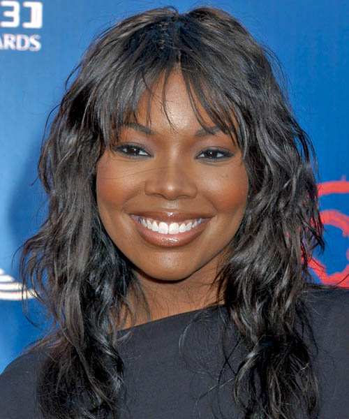Gabrielle Union Long Wavy Casual