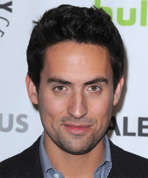 Ed Weeks Short Straight Hairstyle