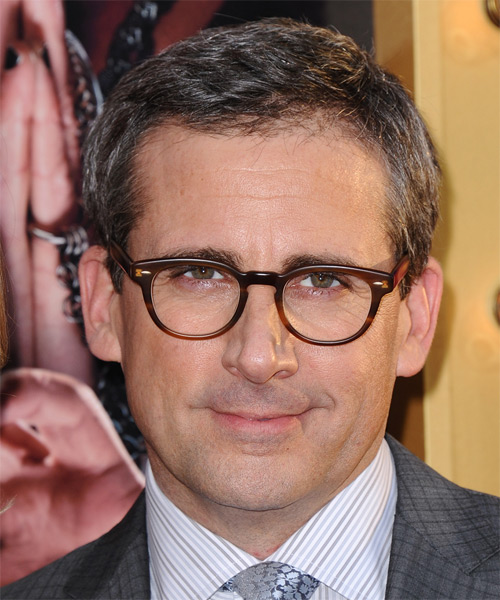 Steve Carell Short Straight Hairstyle