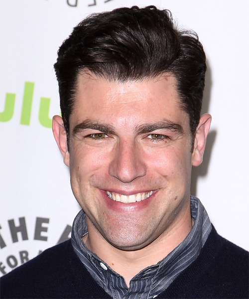 Max Greenfield Short Straight Formal Hairstyle