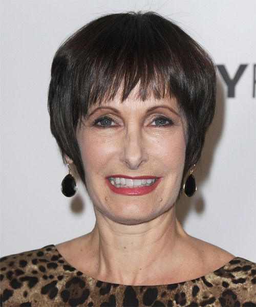 Gale Anne Hurd Short Straight Hairstyle