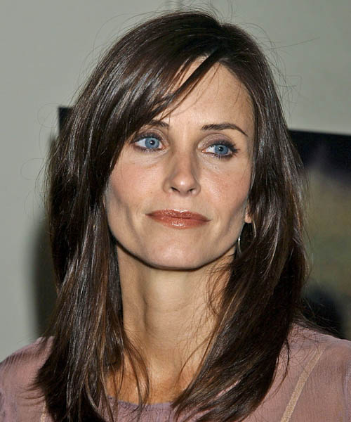 Courteney Cox Long Straight Casual