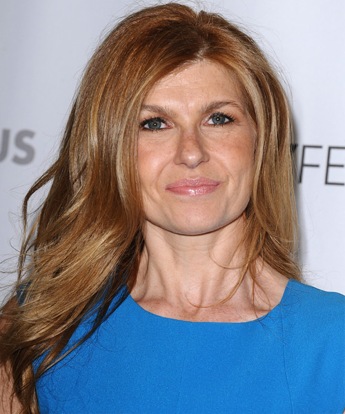 Connie Britton Long Straight Hairstyle