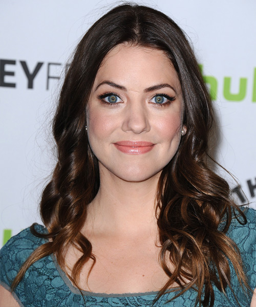 Julie Gonzalo - Casual Long Wavy Hairstyle