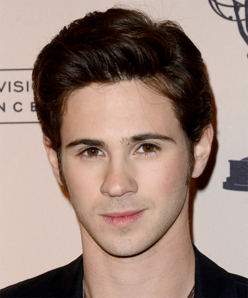 Connor Paolo - Casual Short Straight Hairstyle