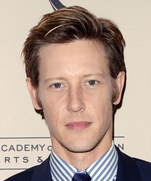 Gabriel Mann Short Straight Formal