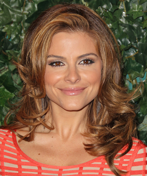 Maria Menounos - Formal Long Straight Hairstyle