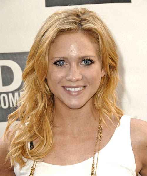 Brittany Snow Long Wavy Casual