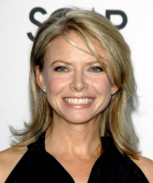 Faith Ford - Casual Medium Straight Hairstyle