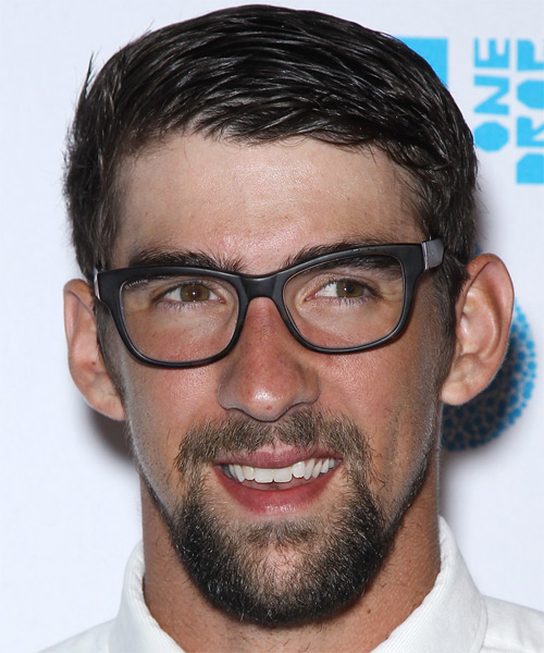 Michael Phelps Short Straight Hairstyle
