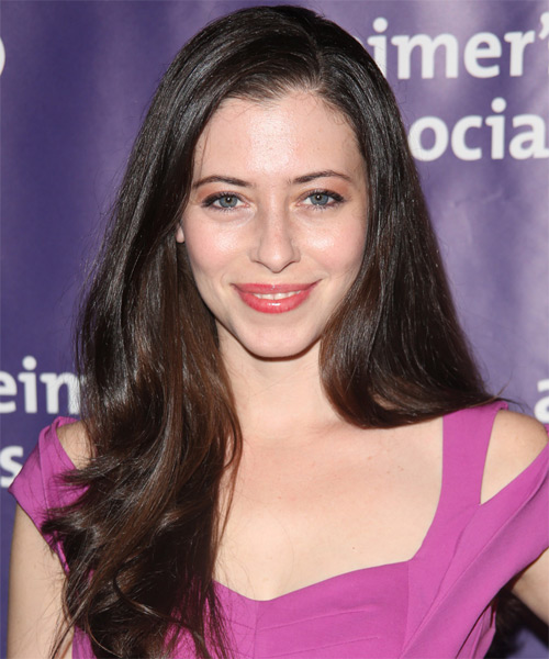 Lauren Miller Long Straight Hairstyle