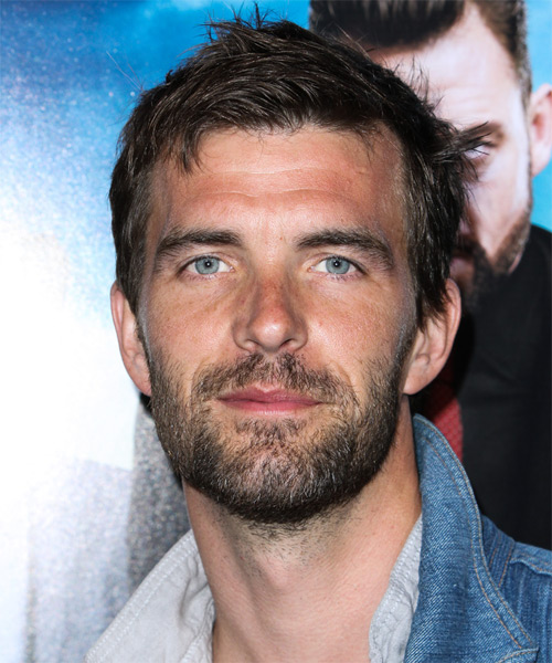 Lucas Bryant Short Straight Casual Hairstyle