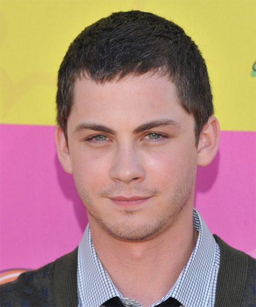 Logan Lerman Short Straight