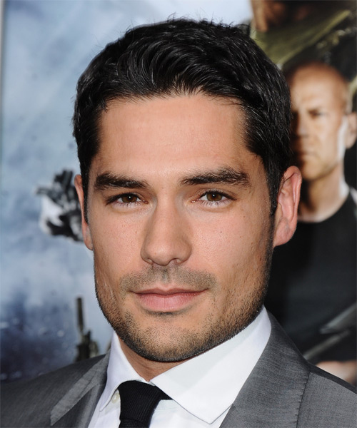 DJ Cotrona Short Straight Hairstyle