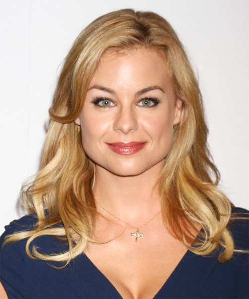 Jessica Collins Long Straight Casual Hairstyle