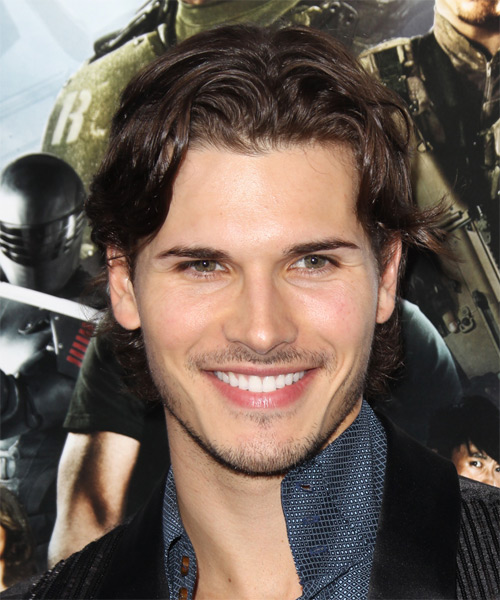 Gleb Savchenko Medium Straight Hairstyle