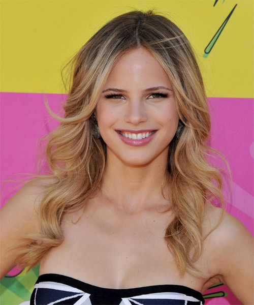 Halston Sage Long Wavy Formal