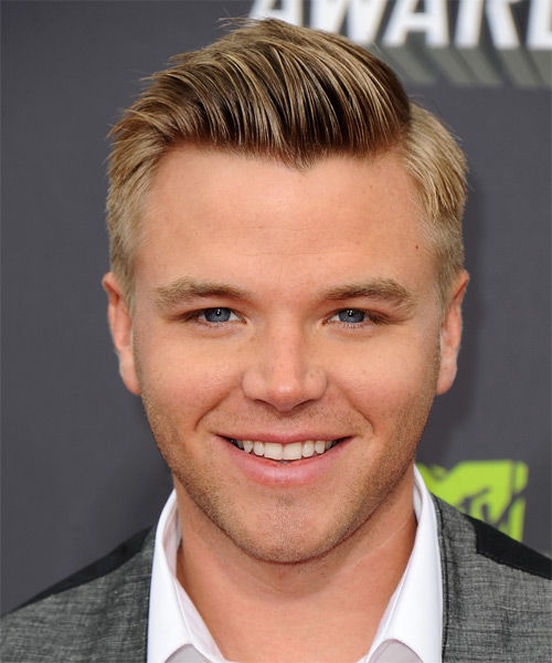 Brett Davern Short Straight Formal Hairstyle