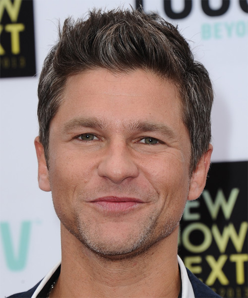 David Burtka Short Straight Casual Hairstyle - Medium Brunette Hair Color