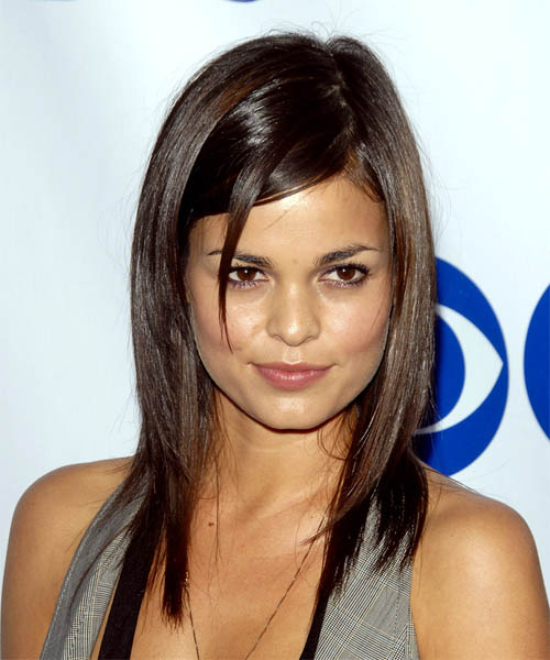 Lina Esco - Casual Long Straight Hairstyle