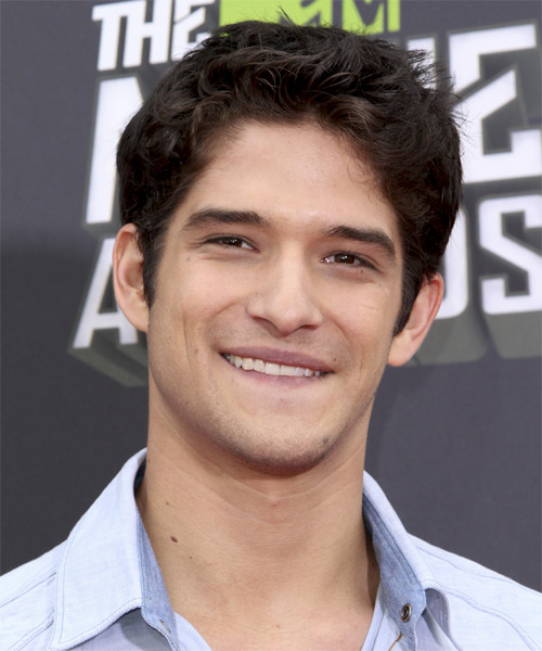 Tyler Posey Short Straight Hairstyle - Dark Brunette (Chocolate)