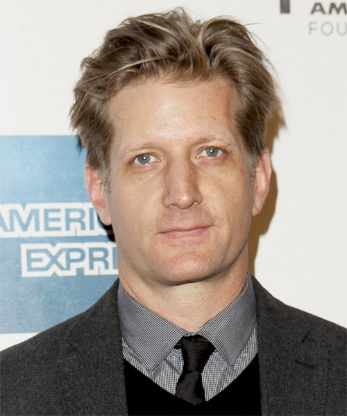 Paul Sparks Short Straight Hairstyle - Light Brunette