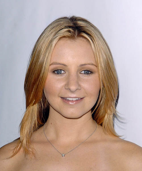 Beverley Mitchell Long Straight Casual Hairstyle