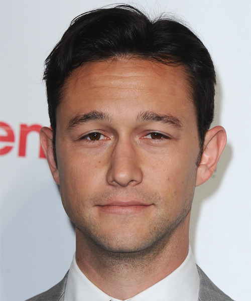 Joseph Gordon Levitt Short Straight Formal Hairstyle - Dark Brunette Hair Color