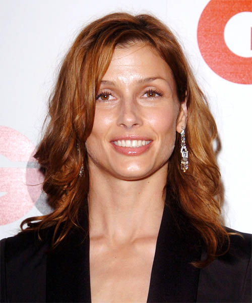 Bridget Moynahan Long Wavy Casual Hairstyle