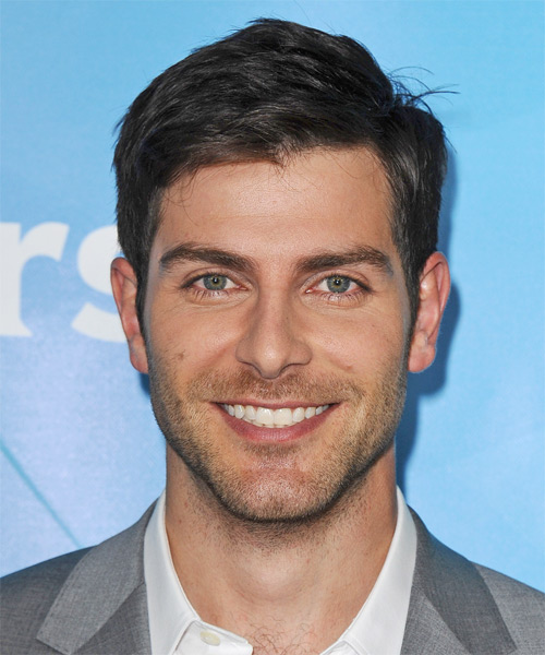 David Giuntoli Short Straight Hairstyle - Medium Brunette