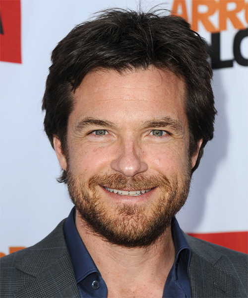 Jason Bateman Short Straight Casual Hairstyle - Dark Brunette Hair Color
