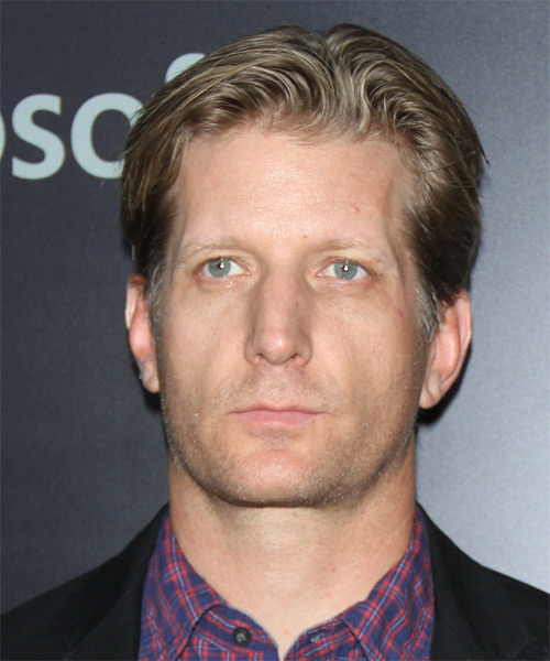 Paul Sparks Short Straight Formal Hairstyle - Dark Blonde Hair Color