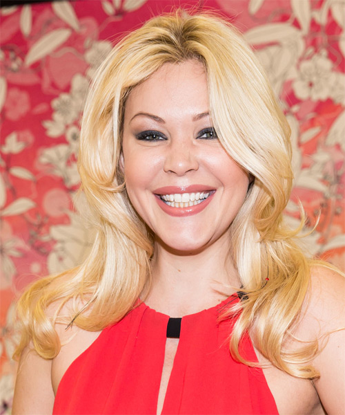 Shanna Moakler Long Straight Hairstyle