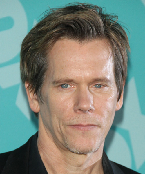 Kevin Bacon Short Straight Hairstyle - Dark Blonde (Ash)