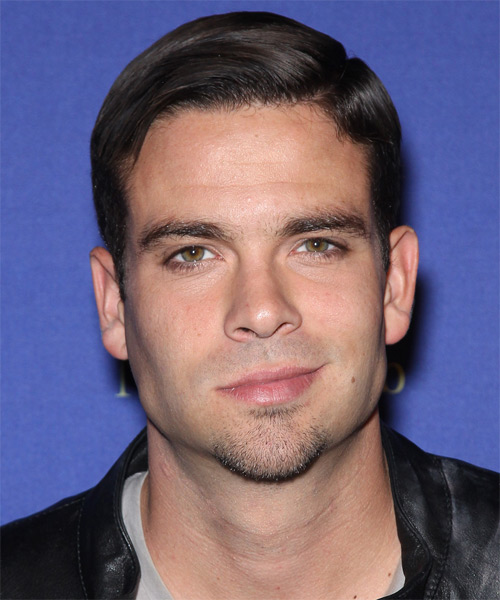 Mark Salling Short Straight Formal Hairstyle - Dark Brunette Hair Color