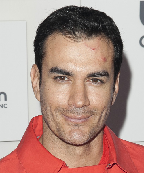 David Zepeda Short Straight Hairstyle