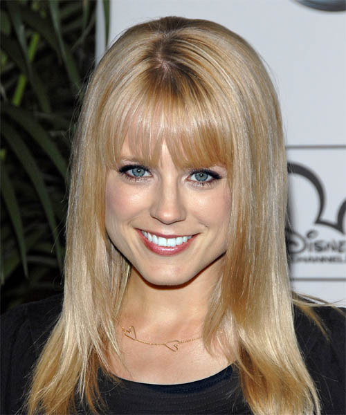 Allison Munn - Formal Long Straight Hairstyle