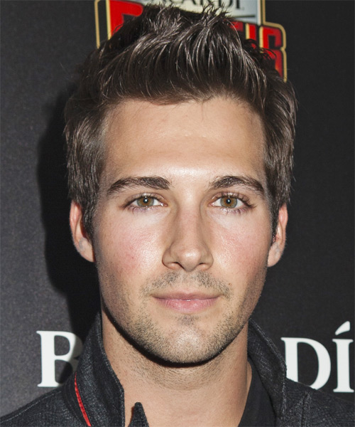 James Maslow Short Straight Casual Hairstyle