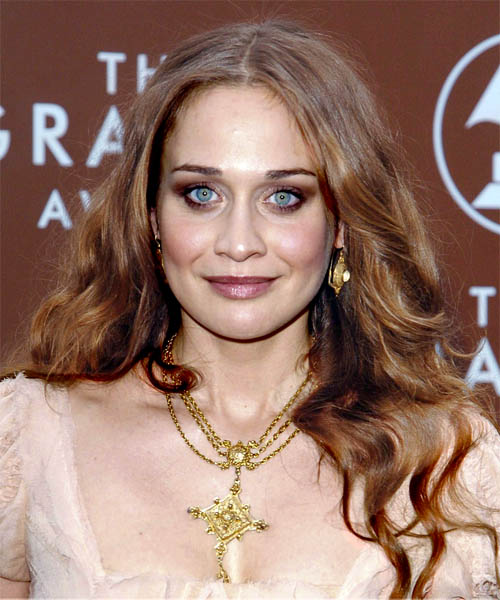 Fiona Apple Long Wavy Hairstyle